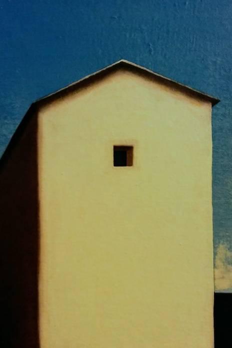 La casa di dietro, 20x30 cm, olio su tela 2018