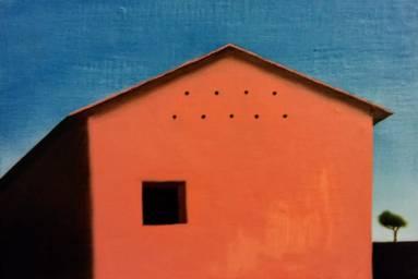 Scorcio brisighellese, 30x20 cm, olio su tela 2018