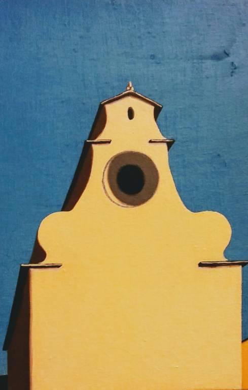 Scorcio fiorentino #2, 20x30 cm, olio su tela, 2018