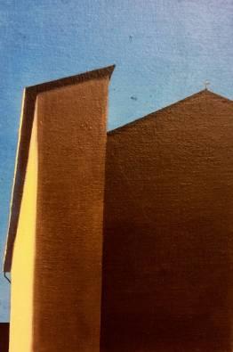 Scorcio Fiorentino#1, 20x30 cm, olio su tela , 2018