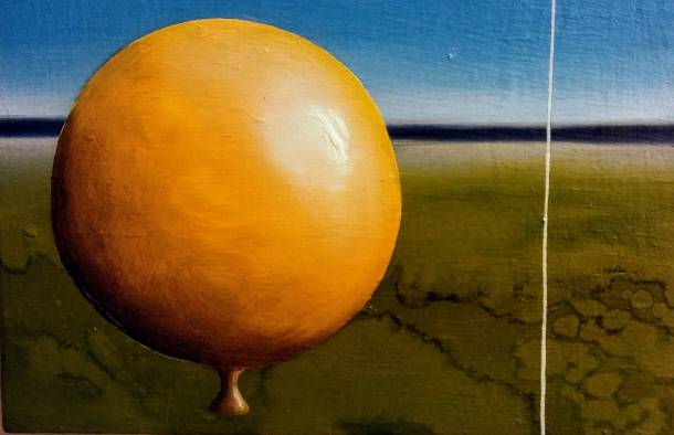 Senza titolo, olio si tela , 30x20 cm, 2018
