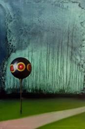 Spaventapasseri, olio su tela, 40x 50 cm, 2018